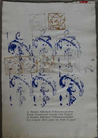 Libro Illustrato Arman - Ritournelle pour Saint Michel l'Observatoire