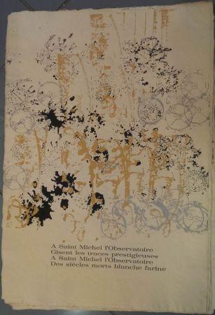 Litografia Arman - RITOURNELLE pour SAINT MICHEL L'OBSERVATOIRE