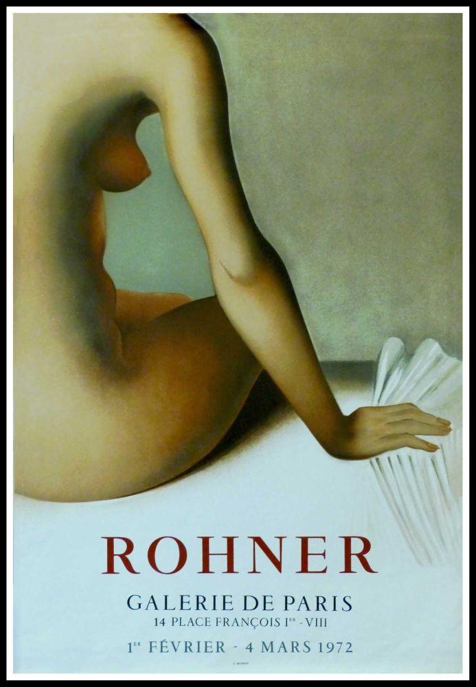 Manifesti Rohner - ROHNER - GALERIE DE PARIS