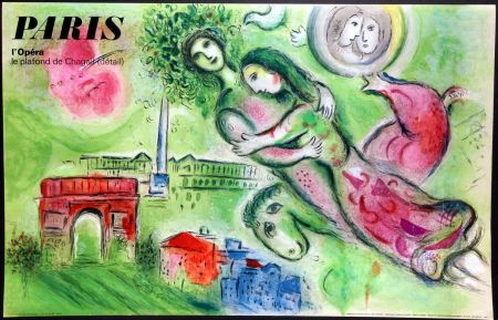 Manifesti Chagall - Romeo et Juliette – Opera Paris