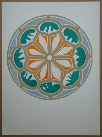 Litografia Matisse - Rosace