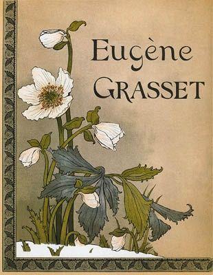 Litografia Grasset - Roses de Noël / Christmas Roses