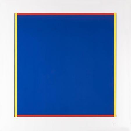 Serigrafia Knoebel - Rot, Gelb, Weiss, Blau 02