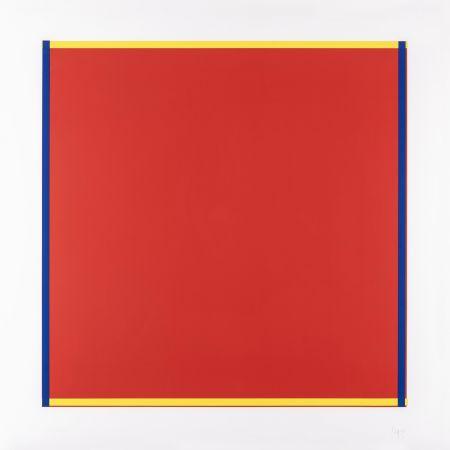 Serigrafia Knoebel - Rot, Gelb, Weiss, Blau 04