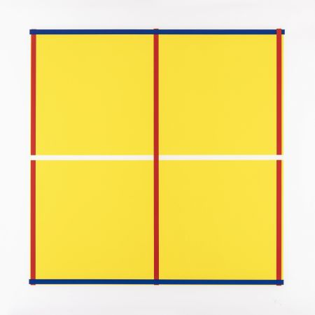 Serigrafia Knoebel - Rot, Gelb, Weiss, Blau 05