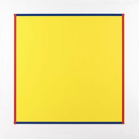 Serigrafia Knoebel - Rot, Gelb, Weiss, Blau 06