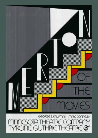 Serigrafia Lichtenstein - Roy Lichtenstein 'Merton Of The Movies' 1968 Original Pop Art Poster