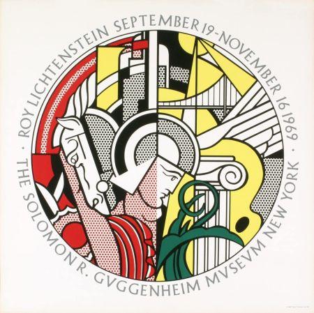Serigrafia Lichtenstein - Roy Lichtenstein 'Solomon R. Guggenheim Museum' 1969 Original Poster