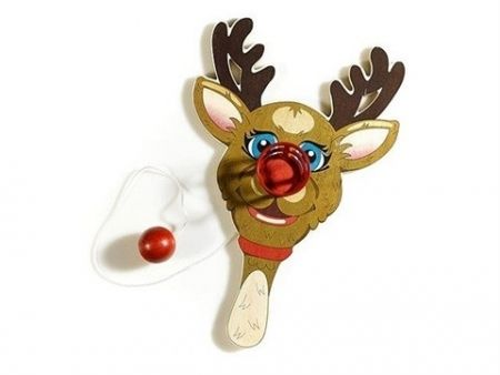 Multiplo Koons - Rudolph the Red-Nosed Reindeer, Paddle Ball Game