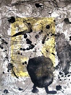 Incisione Miró - Rupestre 13
