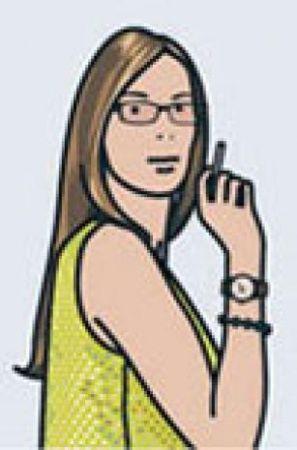 Serigrafia Opie - Ruth Smoking 2