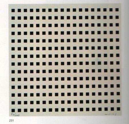 Serigrafia Nemours - Rythme du millimètre