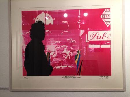 Serigrafia Fromanger - Série: Le peintre et le modèle