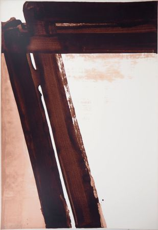 Serigrafia Soulages - Sérigraphie n°15