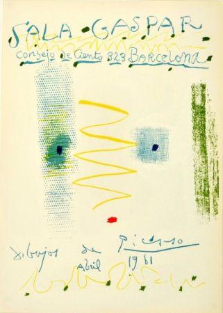 Litografia Picasso - Sala Gaspar. Dibujos de Picasso