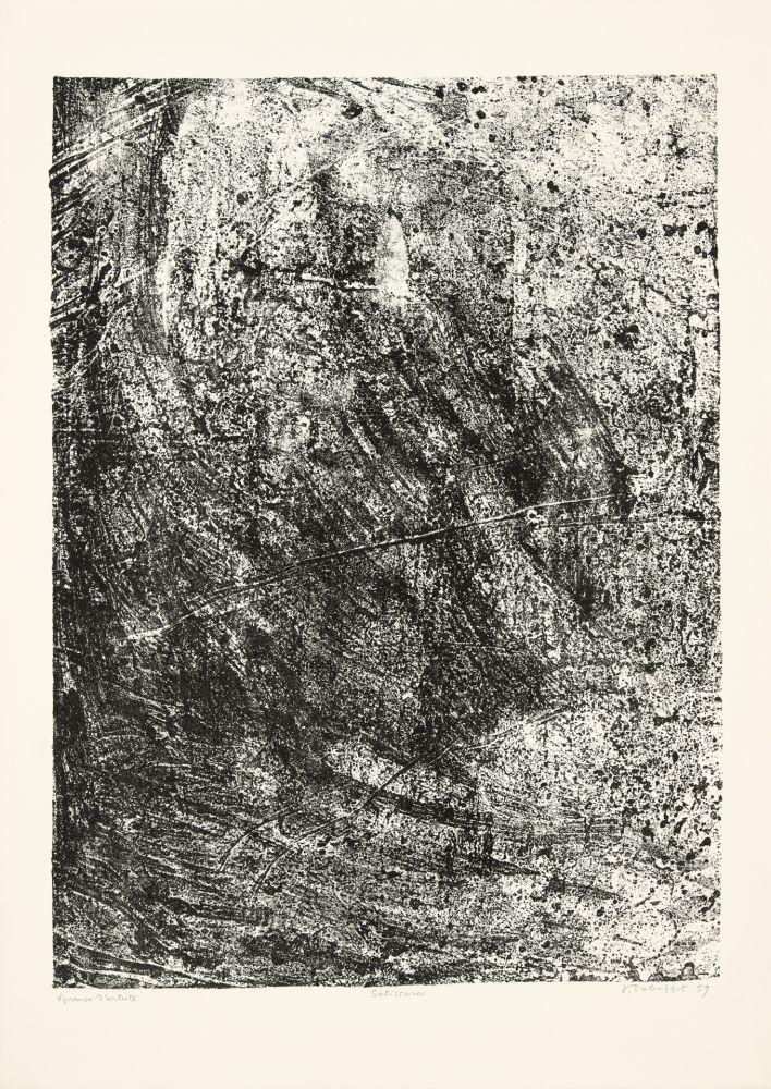 Litografia Dubuffet - Salissures