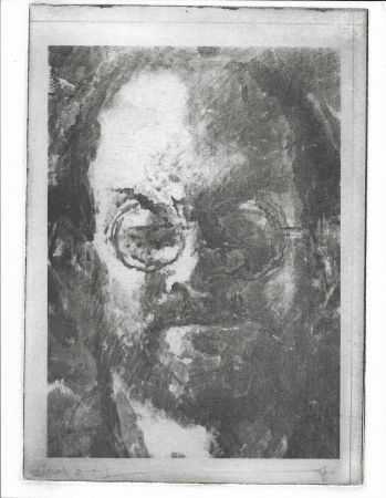 Litografia Phillips - Salman Rushdie