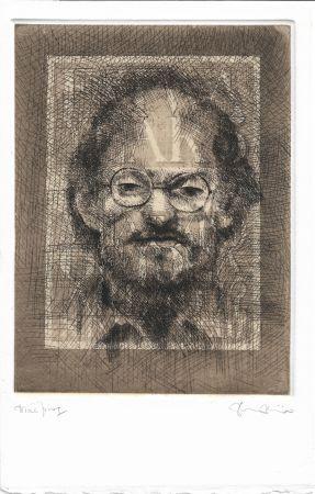 Acquaforte E Acquatinta Phillips - Salman Rushdie