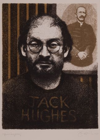 Litografia Phillips - Salman Rushdie as DIY Zola