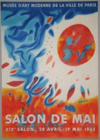 Litografia Singier - Salon De Mai
