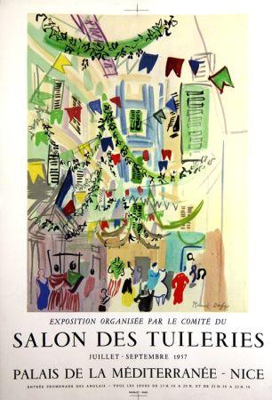 Litografia Dufy - Salon des Tuileries  Palais de la Mediterranée
