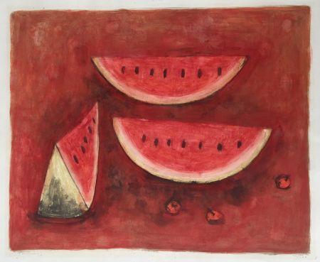 Litografia Tamayo - Sandias