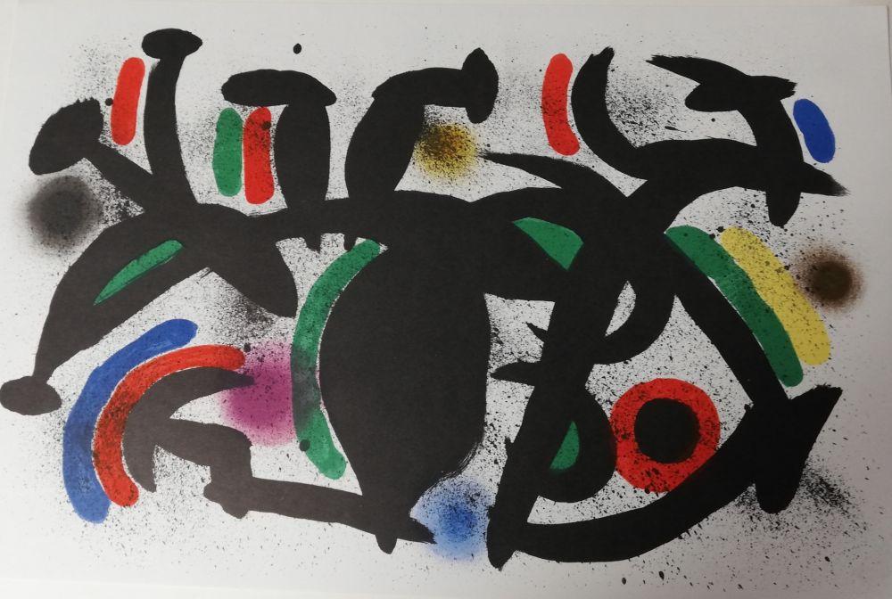 Litografia Miró - Sans titre
