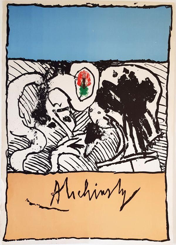 Litografia Alechinsky - Sans Titre