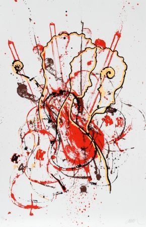 Serigrafia Arman - Sans titre