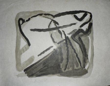 Litografia Van Velde - Sans Titre