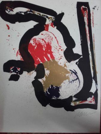 Litografia Arman - Sans Titre