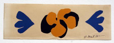 Litografia Matisse - Sans Titre