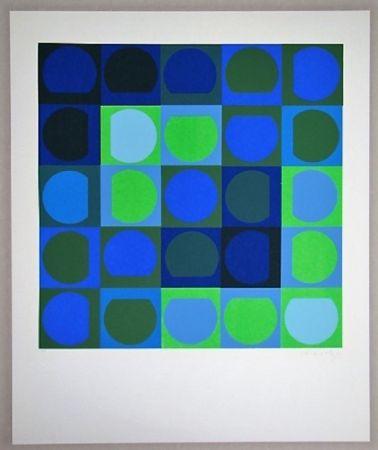 Serigrafia Vasarely - Sans Titre