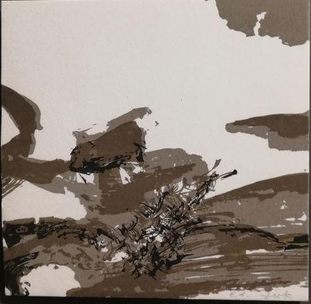Litografia Zao - Sans titre