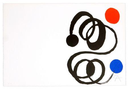 Litografia Calder - Sans titre