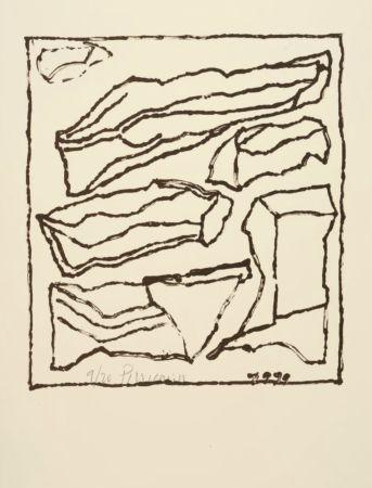 Litografia Pincemin - Sans titre - Untitled