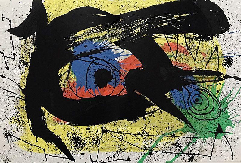 Litografia Miró - Sans Titre I