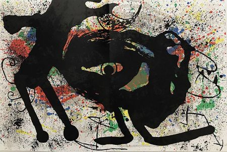 Litografia Miró - Sans Titre II
