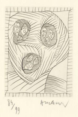 Litografia Alechinsky - Sans titre / Untitled