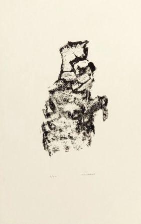 Litografia Michaux - Sans titre / Untitled