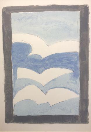 Litografia Braque - Sans titre / Untitled