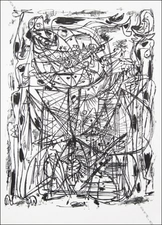 Litografia Jorn - Sans Titre / Untitled.