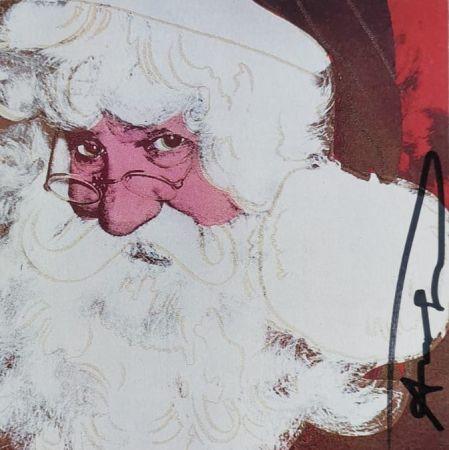 Serigrafia Warhol - Santa Claus