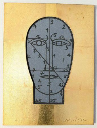 Serigrafia Paladino - Sarabanda