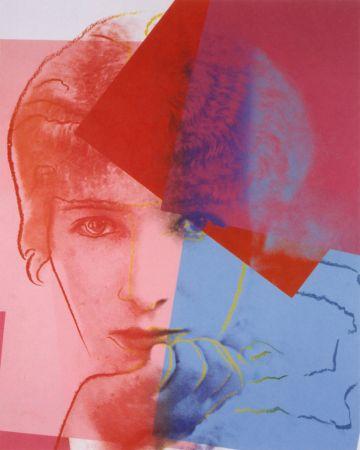 Serigrafia Warhol - Sarah Bernhardt (FS II.234) Trial Proof