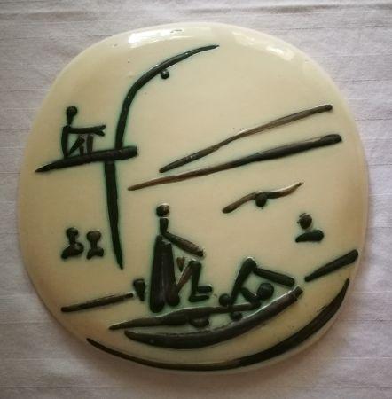 Ceramica Picasso - Scene de plage
