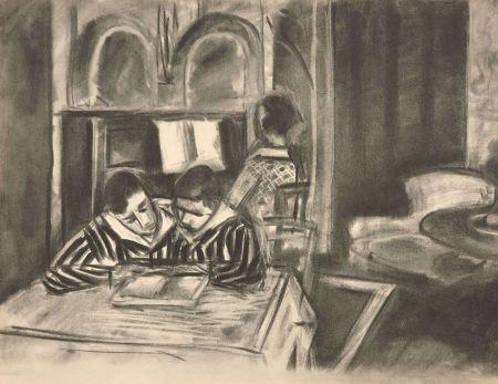 Collografia Matisse - SCENE D'INTERIEUR, 1933