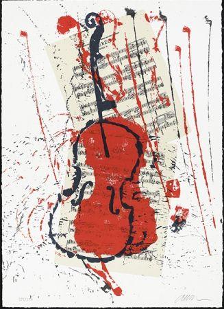 Serigrafia Arman - Scherzo opus 31