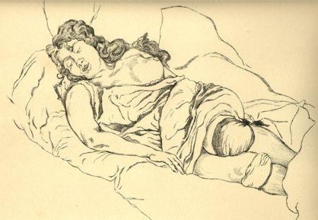 Libro Illustrato Vrieslander - Schlafende Frauen / Sleeping Women