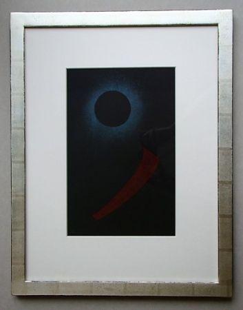 Litografia Kandinsky - Schwarze Sonne, 1940